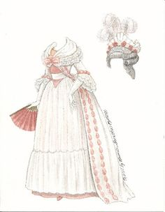 PHILIPPA OF PHILADELPHIA - (5 of 6 )  by Quimera Labels: 18th century fashion by Brenda Sneathen Mattox