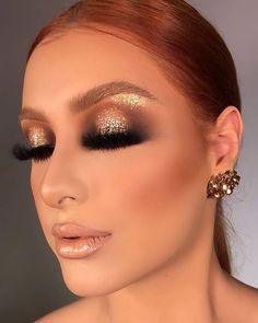 BESTOPE Makeup Brushes 16 PCs Makeup Brush Set Premium Synthetic Foundation Brush Blending Face Powder Blush Conce… (With images) Flawless Makeup, Gorgeous Makeup, Pretty Makeup, Glam Makeup Look, Makeup Eye Looks, Eye Makeup Designs, Professional Makeup Artist, Makeup Brush Set, Eyeshadow Makeup