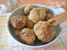 Se cercate uno sfizioso modo per preparare un secondo di carne, ecco per voi delle deliziose Polpette allo Zenzero con croccante panatura di semi di sesamo