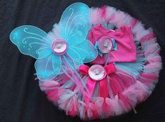 Underwater Sea Fairy Costume Petti Tutu Set by PirouetteBoutique, $69.95