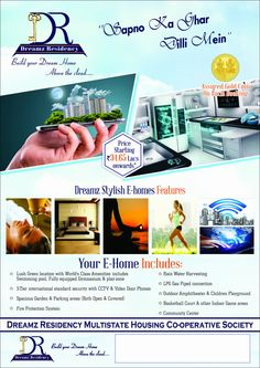 DDA Approved #Residential #Apartment in L Zone #Delhi price start @3300/sq.ft. For best deals call now on 8191800023