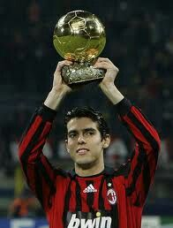 Kaka's ballon d'or of 2007 Ricardo Kaka, Ballon D'or, Sport Icon, Ac Milan, Best Player, Soccer, Vans, Italy, Best Football Players