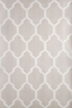 Tessella is a truly geometric paper. Inspired by a century design this interlocking mosaic pattern is confident and clean. Tessella has a ground colour in Elephant's Breath No. 229 and pattern printed in Skimming Stone