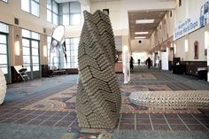 Innovative 3D Printed Concrete Able to Withstand Earthquakes: The Quake Column - http://freshome.com/2014/10/13/innovative-3d-printed-concrete-able-to-withstand-earthquakes-the-quake-column/