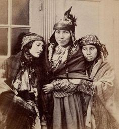 MI'KMAQ WOMEN , 1859