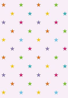Large Starry Repeat Stencil