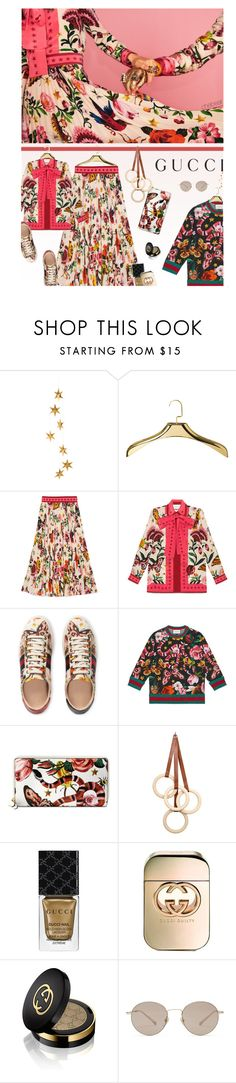 """Presenting the Gucci Garden Exclusive Collection: Contest Entry"" by chebear ❤ liked on Polyvore featuring Livingly, Mike + Ally, Gucci, Eno Studio and gucci"