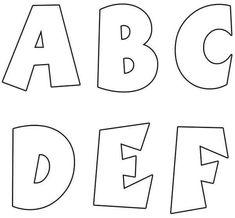 molde-letras -