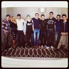 TVD Cast in Paris