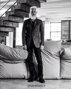The history of an object speaks volumes. Every Montauk Sofa is custom made in Canada at our Montreal factory in St. Henri to be precise. Live Large campaign photo of Paul Mason, who by the way is also made in Canada, is by photographer Christoph Strube. Creative Direction Boha Design, Stylist Mark John Tripp, Hair & Makeup Jamie Hanson. The new Alex sofa is available in all Montauk Sofa stores in fall 2015. #livelarge #montauksofa montauksofa.com