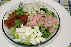 Cobb Salad. My favorite Low Carb lunch treat.