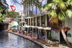 Hilton Palacio Del Rio on the San Antonio River Walk San Antonio Hotels, Visit San Antonio, San Antonio Zoo, Downtown San Antonio, Del Rio Texas, Hotel Ibiza, San Antonio Riverwalk, River Walk, Beautiful World