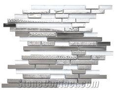 Mosaic, Backsplash Metal Mosaic Tile-China Stone Mosaic,Glass Mosaic