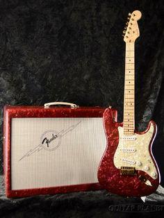 Fender Custom Shop Red Moto Stratocaster & Amp Set Designed by Fred Stuart 1997