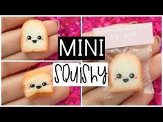 DIY MINI TOAST SQUISHY - World's Smallest Squishy! - YouTube