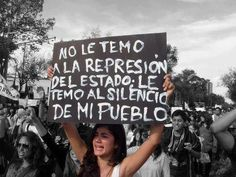 """I don't fear State repression; I fear the silence of my people."" Take action for the students of Ayotzinapa! Ideas Are Bulletproof, Street Quotes, World Quotes, All Souls, Political Art, Philosophy Quotes, Power To The People, Life Words, Spanish Quotes"