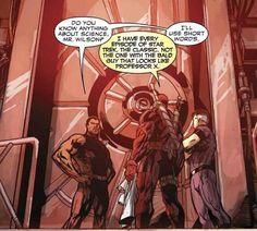 He's a nerd. | 23 Reasons Everyone Should Love Deadpool - My absolute favorite superhero. Bar-none. Including Batman.