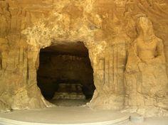 Smaller Cave, Elephanta - Elephanta Caves - Wikipedia, the free encyclopedia