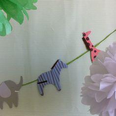 Animal Party garland