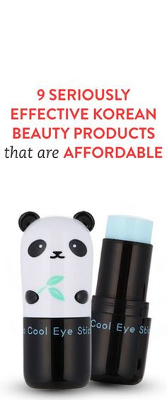 These Korean beauty products come in cute packaging and they work!