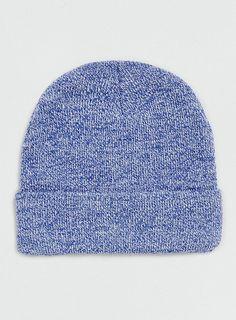 Photo 1 of Blue/White Mix Beanie