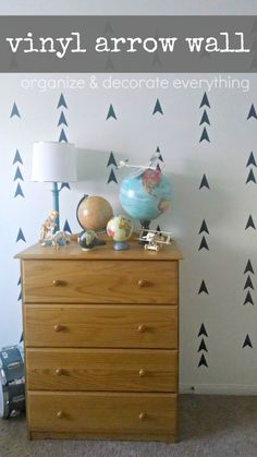 Vinyl Arrow Wall - Organize and Decorate Everything