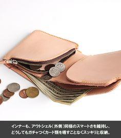 Rettam Yorozya   Rakuten Global Market: REDMOON red moon-limited shortstop wallet natural color 2000-RM-MID (RM branding iron) dsdNT