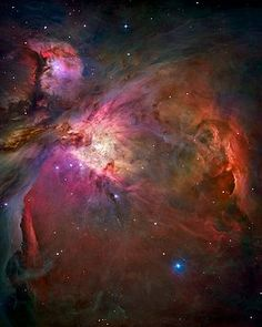 Orion Nebula from The Hubble Telescope (file under things to look at when I get myopic)