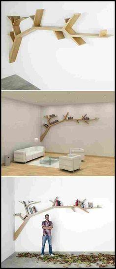 6 Inspired Tricks: Floating Shelf Layout Ceilings floating shelves for tv bookshelves.Floating Shelves Plants Display floating shelves pantry how to build.Floating Shelf Below Tv Bookshelves. Tree Bookshelf, Tree Shelf, Bookshelf Ideas, Bookshelf Headboard, Wallpaper Bookshelf, Nursery Bookshelf, Creative Bookshelves, Bookshelves Kids, Tree Wallpaper