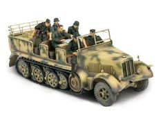 Unimax Forces of Valor 1:32 Scale German Sd. Kfz. 7 Half-Track D-Day Series $55.39 (21% OFF) + Free Shipping
