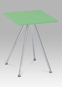 83467-02 LIM Odkládací stolek v limetkově zelené barvě v kombinaci s chromem. Home Decor, Decoration Home, Room Decor, Home Interior Design, Home Decoration, Interior Design