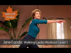 Start Walking at Home - 3 Mile Indoor Walk - The Truth About Weight Loss Ever wanted to go for a walk with a Hollywood Legend? Well this is your opportunity! The Jane Fonda Walking Cardio Workout will get you moving, losing we Beginner Cardio Workout, Low Impact Cardio Workout, Cardio Training, Workout For Beginners, Workout Videos, Cardio Workouts, Easy Workouts, Workout Plans, Race Training