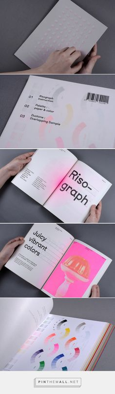 Imperfection booklets: Risograph