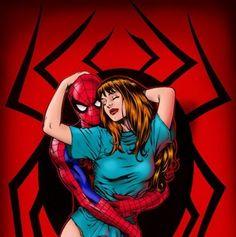 Spider-Man & Mary Jane Watson