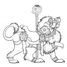 "iColor ""Carousel Animals""   Carousel Lion"