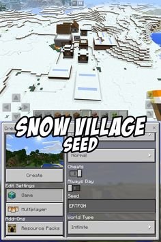 Snow Village Seed: ERTFGH