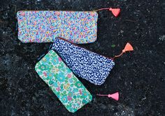 novamelina  Cutest pouches etc./ Ihanimmat pussukat ym: www.novamelina.com  #colorful #handmade #unique #pouch #pouches #liberty #art #fabrics #kawaii #finnish #design #shop #libertyoflondon