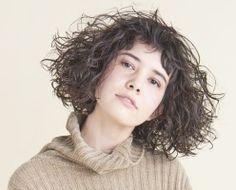 Editor's Note 09 SUMI Perm Curls, Waves Curls, Short Curly Hair, Short Pixie, Medium Hair Styles, Curly Hair Styles, Permed Hairstyles, Aesthetic Girl, Pretty People