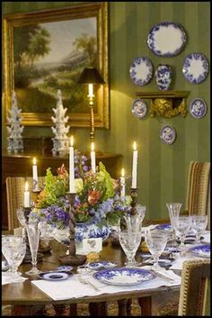 Splendid Sass: THANKSGIVING TABLESCAPES