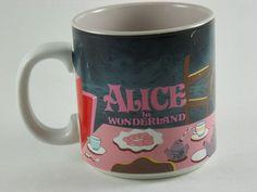 Alice In Wonderland - Coffee Mug - Pink