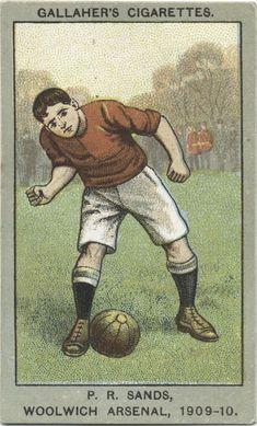 Sands, Woolwich Arsenal, From New York Public Library Digital Collections. Football Stickers, Football Cards, Baseball Cards, Woolwich Arsenal, Bristol Rovers, British Football, Association Football, Most Popular Sports, Everton Fc