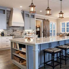 White kitchen is never a wrong idea. The elegance of white kitchens can always provide . Elegant White Kitchen Design Ideas for Modern Home Kitchen Ikea, Home Decor Kitchen, Kitchen Interior, New Kitchen, Awesome Kitchen, Coastal Interior, Kitchen Hacks, Eclectic Kitchen, Farm House Kitchen Ideas