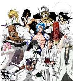In honor of Bleach mangaka Tite Kubo's recent wedding, we should take a moment to honor his greatest subset of characters ever formed, the peace-loving Arrancar of Hueco Mundo.