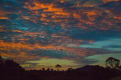 Sunset from the train  (c) Greta van der Rol