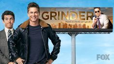 THE GRINDER is a new comedy about two brothers: one a spotlight-grabbing actor who plays TV's most popular lawyer and the other, a real-life, small-town attorney who has yet to find his spotlight. The series stars Robe Lowe and Fred Savage. Tv Shows Current, Current Tv, Robe Lowe, Fred Savage, Fall Tv, Watch Tv Shows, Two Brothers, Tv Land