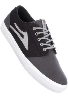 Lakai Griffin, Shoe-Men, grey-black #ShoeMen #MenClothing #titus #titusskateshop