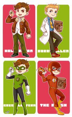 Barry Allen & Hal Jordan