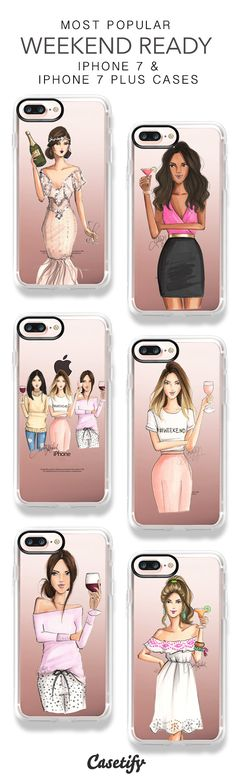 Most Popular Weekend Ready iPhone 7 Cases & iPhone 7 Plus Cases here > https://www.casetify.com/hnicholsillustration/collection