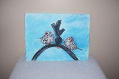 Acrylic on Canvas   -  Birds