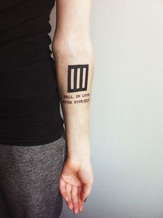 """dryyoureyesandstickthemonice: """" I could probably write a novel why I took this tattoo, but I try to keep it short: Paramore has been my favorite band since I was like 12 and they still are and I just..."""